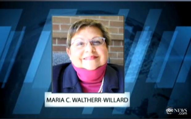 Maria C. Waltherr-Willard tem fobia de crianças pequenas (Foto: Reprodução)