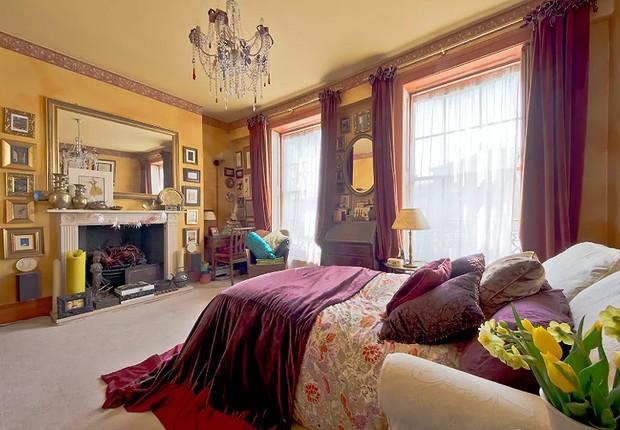 Apartamento no bairro boêmio de Camden, em Londres (Foto: Reprodução/Airbnb)