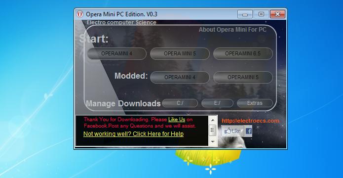 Escolhendo a versão do Opera a ser usada (Foto: Reprodução/Edivaldo Brito)