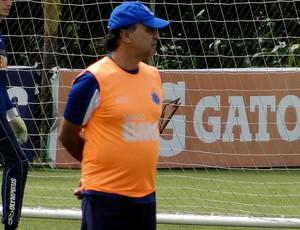 Marcelo oliveira  cruzeiro treino (Foto: Marco Antônio Astoni)