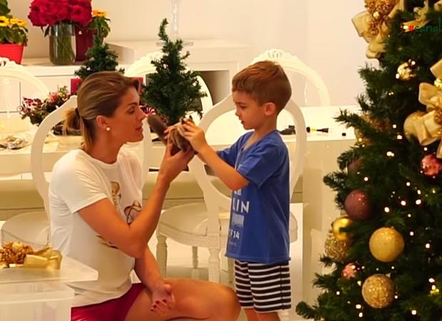 Ana Hickmann e o filho, Alexandre Junior (Foto  Reprodução Instagram) bd53190406