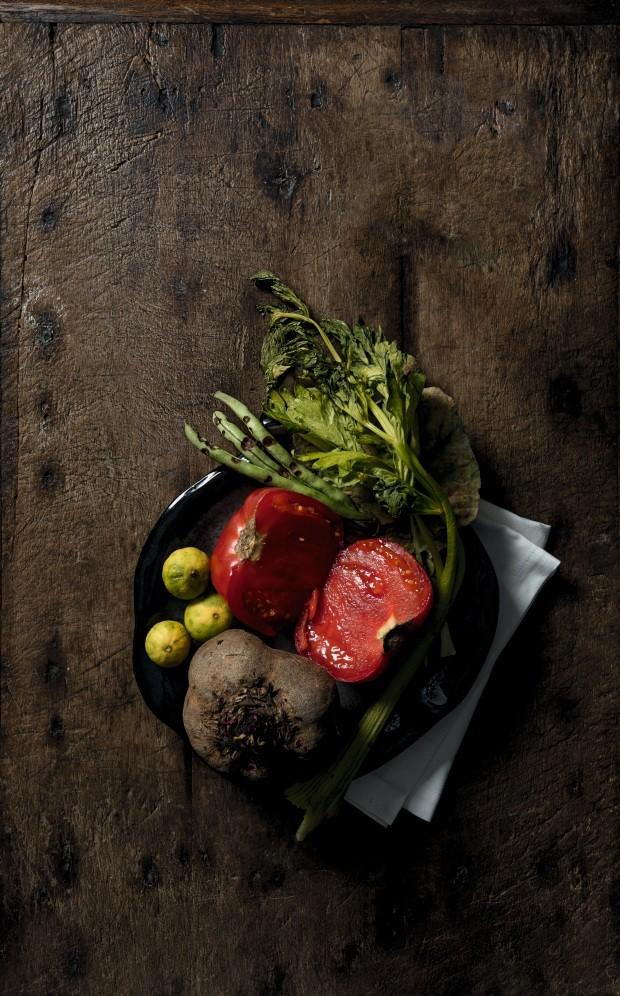 Gastronomia sem desperdício: a nova onda dos chefs é aproveitar tudo (Foto: Rubens Kato)