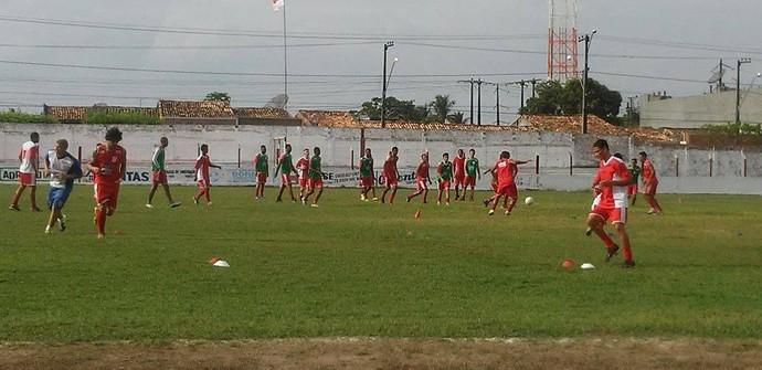 Dorense, treino (Foto: Reprodução/ Dorense)