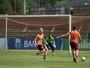 Jovem goleiro Victor Coutinho ganha chance em jogo decisivo contra o Vila