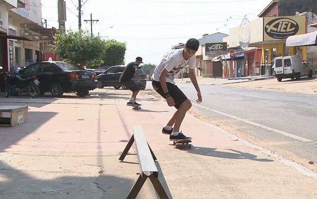 Campeonato de skate será realizado em Ji-Paraná (Foto: Bom Dia Amazônia)