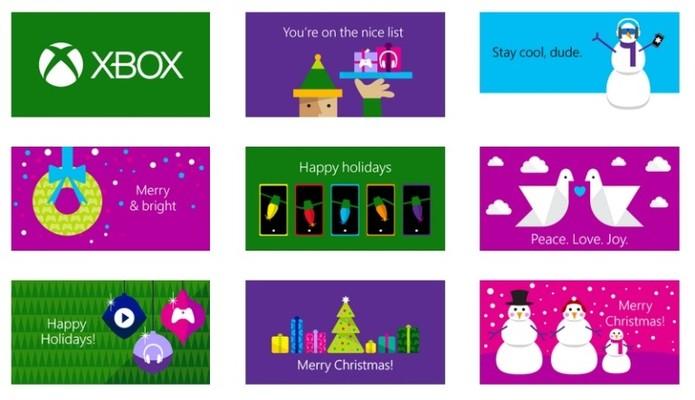 Escolha temas para o seu Vale Presente da Microsoft (Foto: Divulgação)