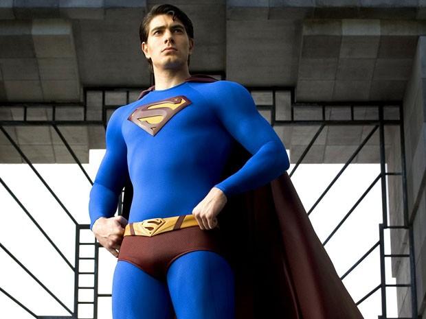 Brendan Routh em 'Superman: o retorno'  (Foto: Divulgação)