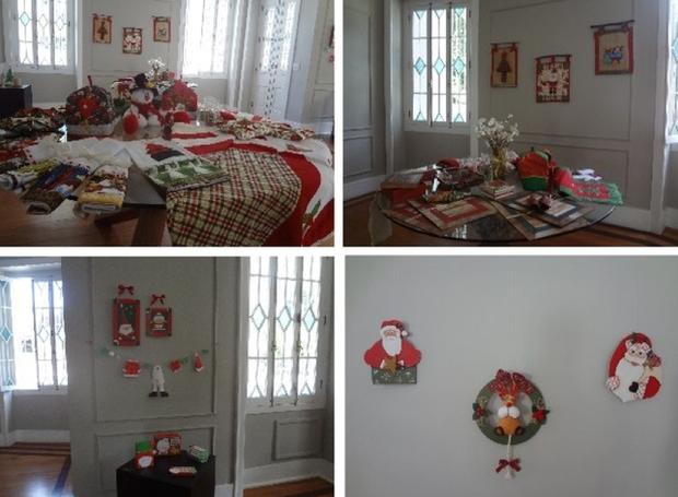 Espaço Cultural Inter TV recebe mostra de artesanato com  produtos especiais para o Natal (Foto: Reprodução/Inter TV)