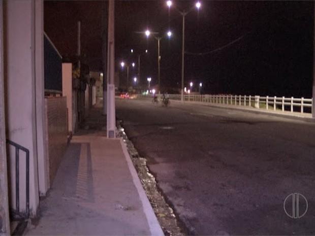 Crime aconteceu na praia de Areia Preta, na zona Leste de Natal  (Foto: Reprodução/Inter TV Cabugi)