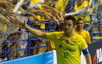 Falcão futsal Brasil x Guatemala (Foto: Carla Carniel / Ag. Estado)