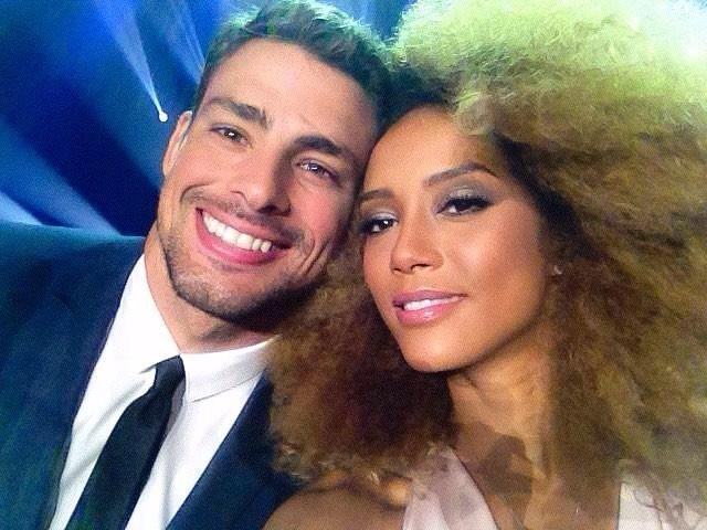 Cauã Reymond e Taís Araújo (Foto: Instagram / Reprodução)