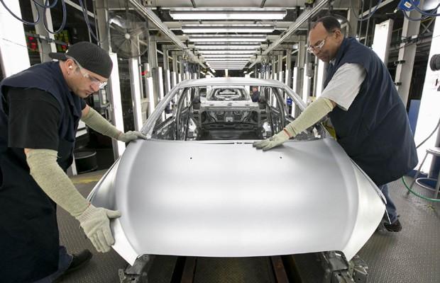 Fábrica da Chevrolet em Orion, nos Estados Unidos (Foto: Divulgação)