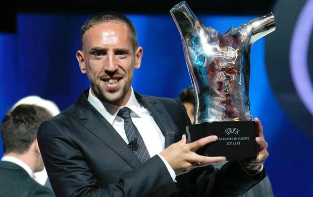 ribery bayern munique uefa prêmio (Foto: AP)
