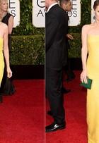 Naomi Watts e Leslie Mann usam vestidos quase iguais em premiação