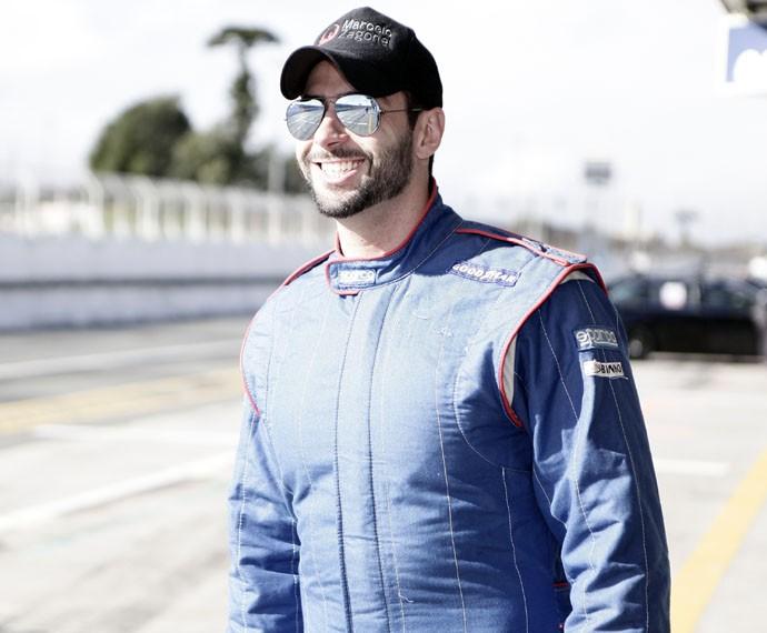 Marcelo Zagonel depende de patrocínio para seguir com o sonho de ser piloto (Foto: Roger Gonzalez)