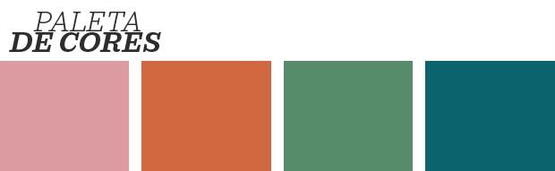 Décor do dia: mix de cores na sala de estar (Foto: Reprodução)