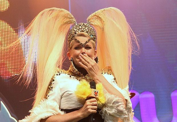 Xuxa na festa Xuchá, no palco do Vivo Rio (Foto: Wallace Barbosa/AgNews)