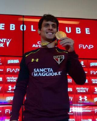 Rodrigo Caio desfalcará o São Paulo no duelo desta quarta-feira
