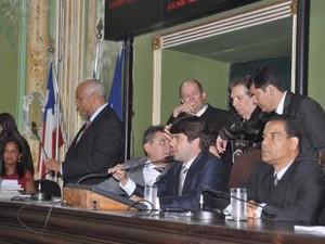 Reforma Tributária de Salvador é aprovada (Foto: Valdemiro Lopes/ Câmara de Vereadores)