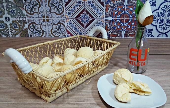 EuAtleta - pão de queijo receita (Foto: Renata Domingues)