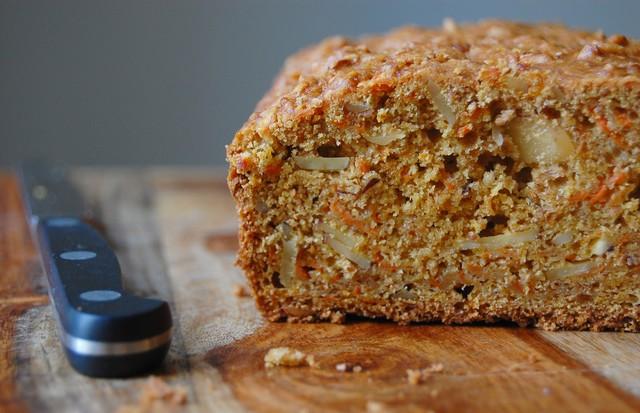 Pão com cenoura e macadâmia (Foto: Divulgação)