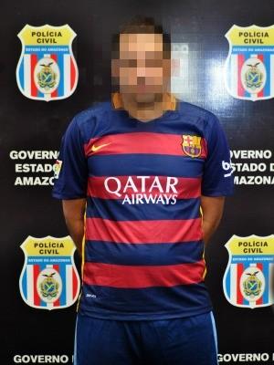 Suspeito mantinha time de futebol  (Foto: Divulgação/Polícia Civil)
