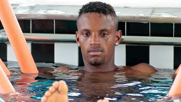Cleber treino Corinthians (Foto: Daniel Augusto Jr / Agência Corinthians)