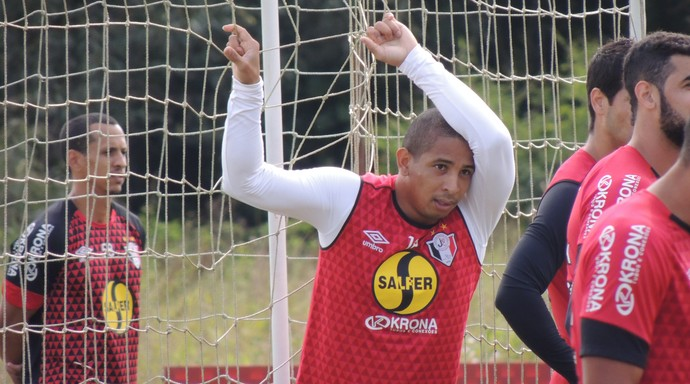 Rafael Costa Joinville atacante (Foto: João Lucas Cardoso)