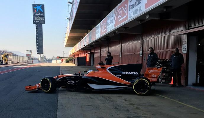 McLaren MCL32 (Foto: Divulgação)