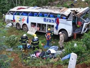 acidente santa catarina mondaí (Foto: Matheus Gustavo Imhoff/Rádio Porto Feliz)