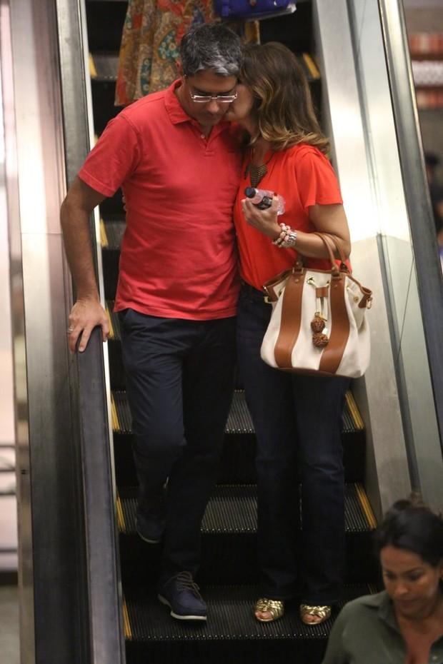 William Bonner e Fátima Bernardes (Foto: Marcus Pavão/ AgNews)