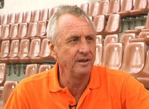 Johan Cruyff, o maior nome do futebol holandês (Foto: Reprodução TV Globo)
