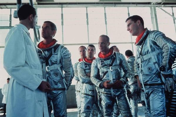 Uma cena da adaptação de 1983 de The Rigt Stuff, lançado no Brasil como Os Eleitos (Foto: Reprodução)