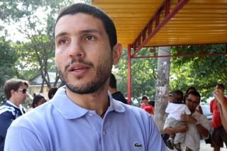 Bruno Coimbra, filho de Zico (Foto: Reprodução/Governo do Estado do Rio de Janeiro)