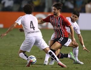 Alexandre Pato Santos x São Paulo (Foto: Rubens Chiri/saopaulofc.net)