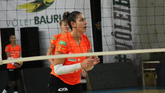 Vôlei Bauru treino, Bruna Honório (Foto: Neide Carlos/ Vôlei Bauru)