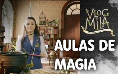 Aulas de magia