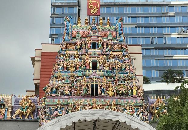 O bairro de Little India, em Cingapura (Foto: Divulgação)