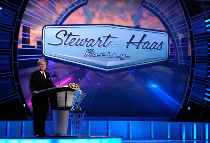 O bilionário americano Gene Haas é co-proprietário de uma equipe da Nascar (Foto: Getty Images)
