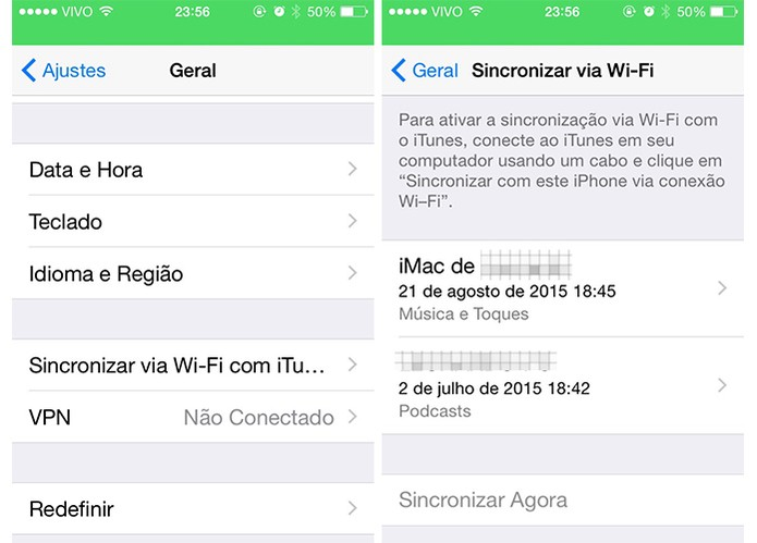 O iPhone oferece boas conectividades diretas com o Mac (Foto: Reprodução/Barbara Mannara)