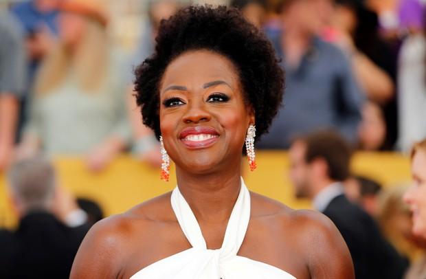 Viola Davis é a primeira atriz negra a ser indicada três vezes ao Oscar (Foto: REUTERS/Mike Blake/File Photo)