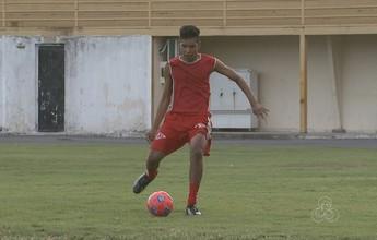 Diego dos Santos 'Chapa' se prepara rumo ao time Sub-20 do Vila Nova
