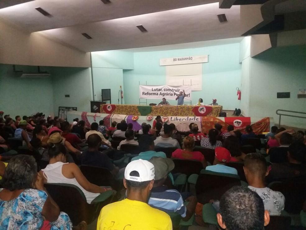 Ocupação faz parte da Jornada de Lutas Nacional pela Reforma Agrária.  (Foto: Alessandra Rodrigues/ Rádio Mirante AM)
