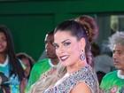 Após polêmica com Juju Salimeni, Nuelle Alves é coroada madrinha