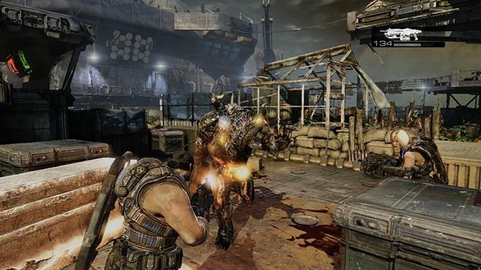Gears of War 3 (Foto: Reprodução)