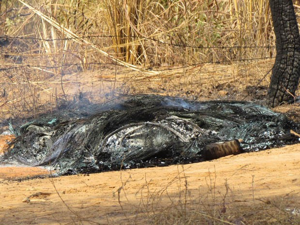 Homem é achado por caminhoneiro com 55% do corpo queimado na BA (Foto:  Oeste10.com / Divulgação)