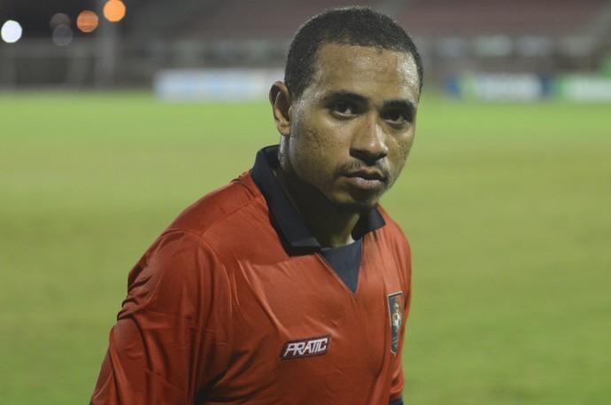 Júlio César, atacante do Sport-ES (Foto: Vitor Jubini/A Gazeta)
