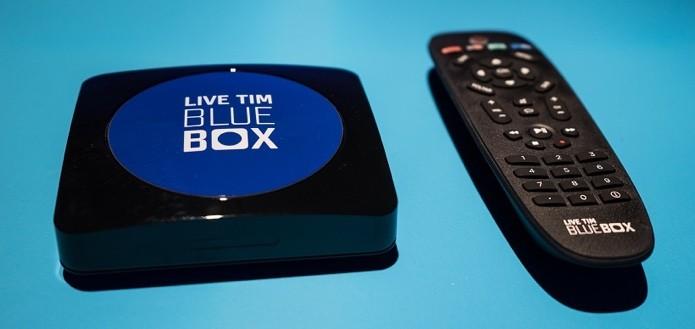 Blue Box é o set top box da TIM com canais abertos, pagos e Netflix (Foto: Divulgação)