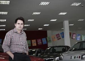 Gerente de vendas Maier Polera (Foto: Caio Kenji/G1)