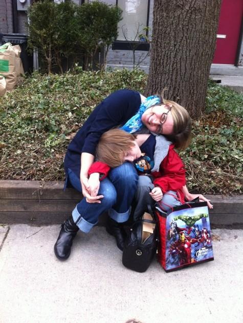 Luise Wischermann com o filho, Oliver (Foto: Arquivo pessoal)